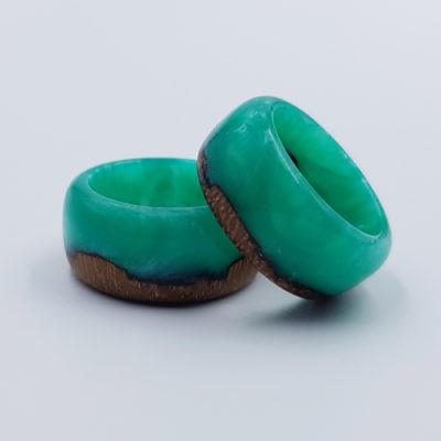 δαχτυλίδι από υγρό γυαλί βεραμάν